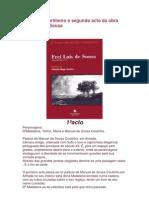 Resumo Do Primeiro e Segundo Acto Da Obra Frei Luis de Sousa