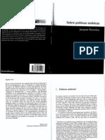 16 Rancière, Jacques - Sobre Politicas Estéticas