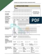 Application Form JKSPDCL ADM 4342