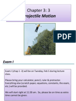 Lecture 07 - Projectile Motion