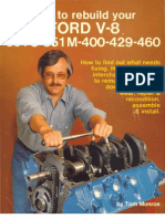 How to Rebuild Your FORD V8 . . .