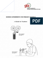 Science Experiments for Primary Schools