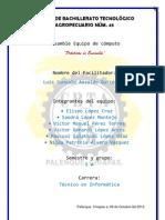 CENTRO DE BACHILLERATO TECNOLÓGICO AGROPECUARIO NÚM