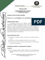 Syllabus Contabilidad de Costos i Primavera 2013