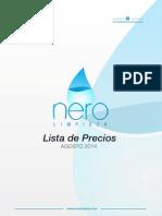 Lista Nero Blog Septiembre 2014