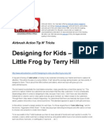 Designing for Kids – Cute Little Frog by Terry Hill