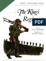 Osprey, Men-At-Arms #021 the King's Regiment (1973) OCR 8.12