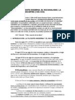 TEMA 5- LA FILOSOFIA DE DESCARTES11-12Filosofía Moderna. El Racionalismo