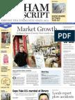 Dedham Transcript Feb. 3, 2011 Market Growth