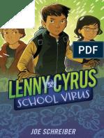 Lenny Cyrus, School Virus by Joe Schreiber - Excerpt