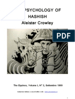 Aleister Crowley - La Psicologia Dell'Hashish - The Psychology of Hashish (in Italiano)