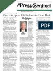 One vote opens UGA's door for Dean Rusk