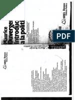 1.1 Duverger, Introducción a la Política (11-112)
