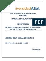 LA INDUSTRIA REFRESQUERA Y EL PROBLEMA DE SALUD PUBLICA.docx
