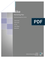 Nike Marketing Plan