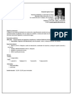 CV Ingeniero Civil