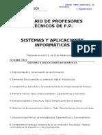 Sistemas y Aplicaciones Informaticas