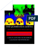The Quimbanda Goetia Spells Rituals