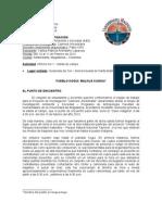 Informe No.1 Salida de Campo - Quebrada Del Sol