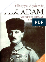 Şevket Süreyya Aydemir - Tek Adam I_ Mustafa Kemal (1881-1919)