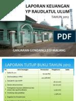 Laporan Keuangan tahun 2012