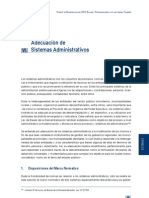 Proceso Descentralizacion 2004 Balance Recomendaciones Agenda Pendiente Adecuacion Sistemas Administrativos