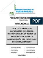 PERFIL TECNICO MIMDES - CE - GRH 2004.doc