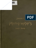 Amateur Photographeur Hand-book