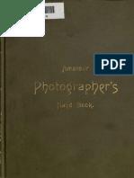 Amateur Photographeur Hand-book
