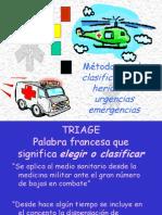Triaje en Urgencias