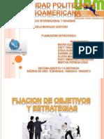 Exposicion Fijacion de Objetivos y Estrategias