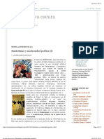 Simbolismo y modernidad poética (I)