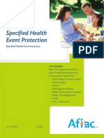 Specified Health Event Protection