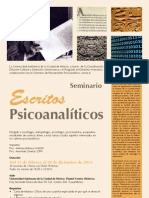Cartel Seminario Escritos