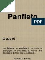 Panflet o