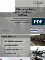 Slums Alleviation Policy and Action Plan (SAPOLA)
