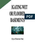 Wet Flooded Basement Brochure FP