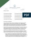 Transportation Conferees Letter - Bolling