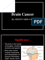 Brain Cancer Report