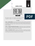 NCO Sample Paper