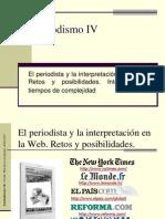 El periodista y la interpretación en la Web