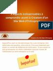 3 Aspects indispensables à comprendre avant la Création d'un Site Web d'Entreprise