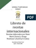 Libreto Internacional