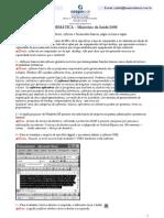 prova Cespe - Meio Ambiente - informática