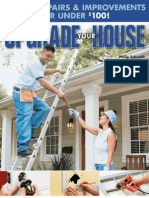 Upgrade Your House 100 DIY Repairs & Improvements for Under $100
