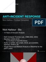 Anti Incident Response