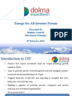 Session 2 - Dolma Impact Fund - Shabda Gyawali