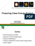 Session 2 - Financing Clean Energy Project