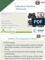 Session 3 - GreenFair BriquetteValueChain-AEPC130203HCE