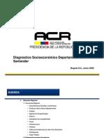 INCODER Diagnostico Socio Economico Santander[1]